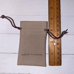 ✅David Yurman small dust bag.
